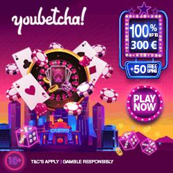 YouBetcha Welcome Eur 250x250