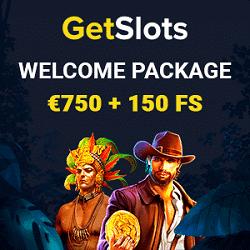 GetSlots Casino banner bonus 250x250