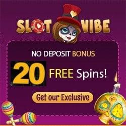SlotVibe bonus 250_250