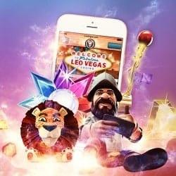 LeoVegas Casino 20 no deposit gratis spins (wager-free bonus)