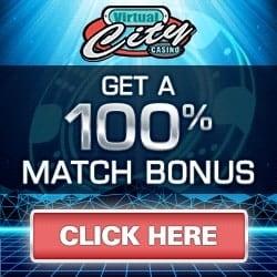 Virtual City Casino | €500 Gratis + 50 Free Spins + No Deposit Bonus