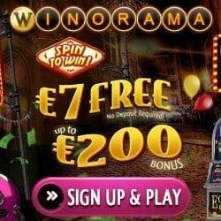 €7 free bonus no deposit required