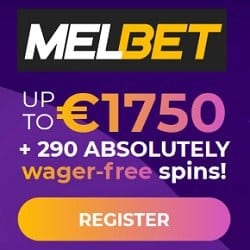Collect 290 free spins on registration!