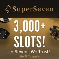 3,000+ Slots!