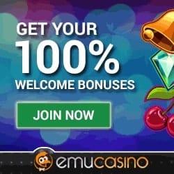 Emu free spins, bonus code, no deposit required, games, pokies