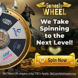 Wheel of Genesis - Spielen Sie Freispiele ohne Einzahlung!
