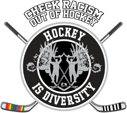 Hockey is Diversity Logo
