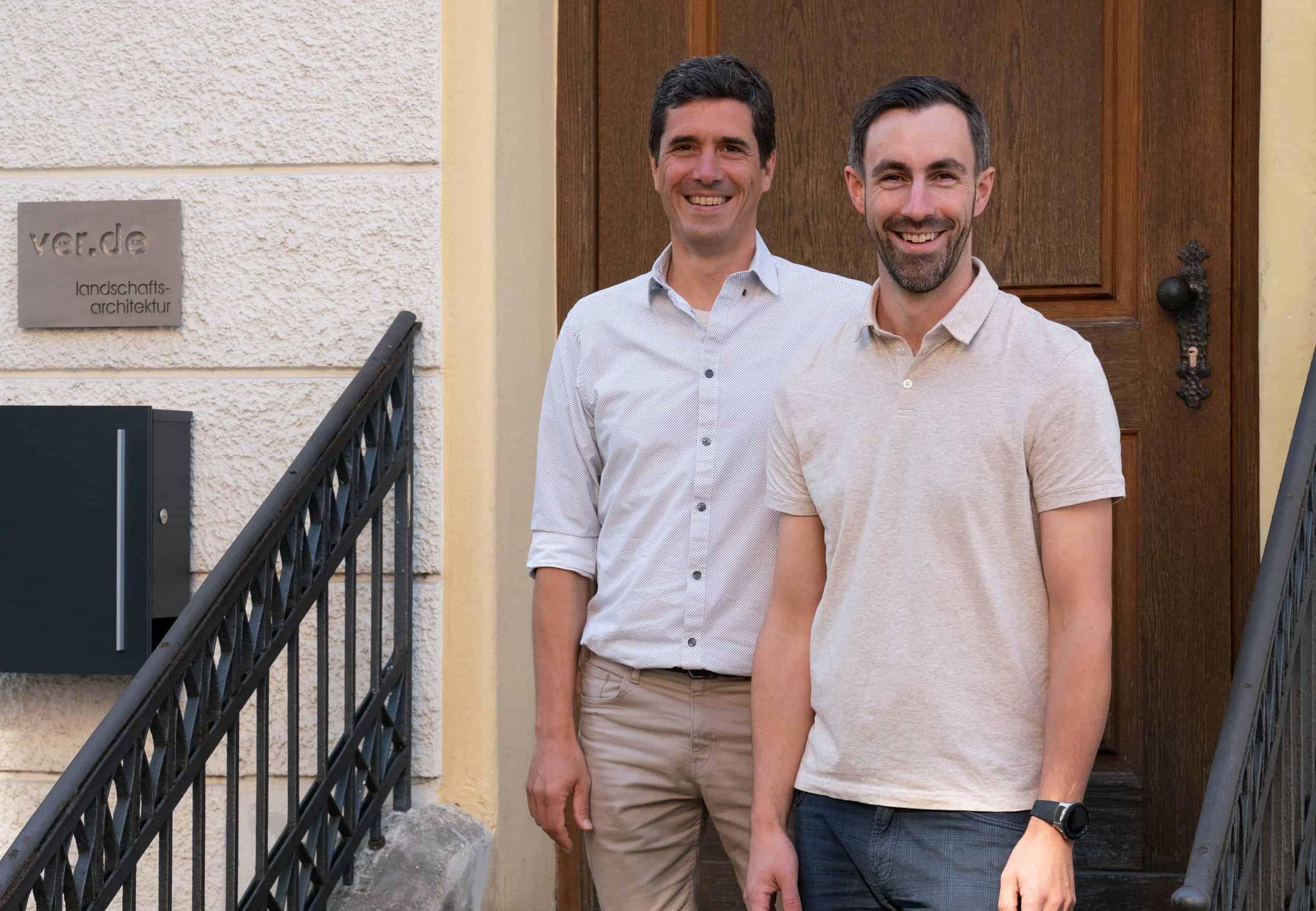 Bild: Stephan Gentz und Simon Winkler, die neuen Partner in der Geschäftsführung von ver.de, Foto: ver.de