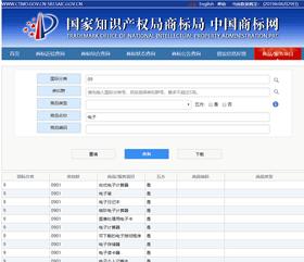 中国商標網・商品\服务项目