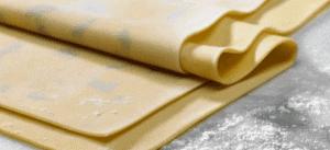 KitchenAid rolled lasagne sheets