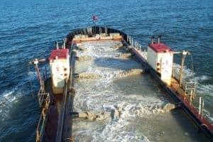 Ocean City Inlet Dredging  Sediment Used as Assateague Erosion Buffer