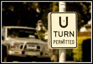 U Turn Permitted