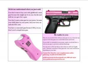 GUN VS STUN GUN