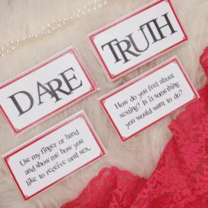 sexy truth or dare game