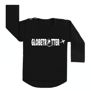 Longsleeve Zwart Globetrotter