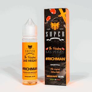 Eco Vape vaporArt range Rich Man Flavour 40ml Shortfill