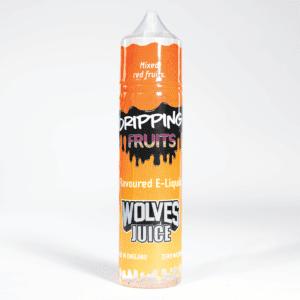 Eco vape Dripping range Wolves Juice Flavour 50ml Shortfill