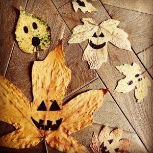 pumpkin leaves