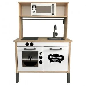 keukensticker homemade set
