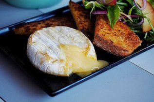 Microwave Baked Brie