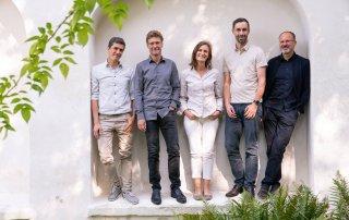 Bild: Die 5 Geschäftsführer von ver.de, Foto: ver.de