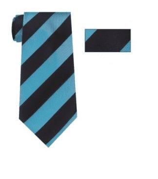Cravat Navy Blue Satin Cravat for a tuxedo