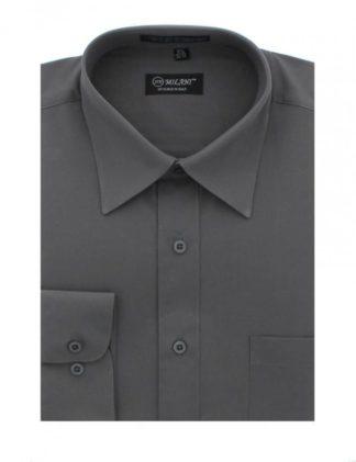 Tuxedo Shirt WHITE LAYDOWN Collar All Cotton French Cuff