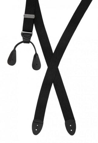 Men's Suspenders Leather Ends