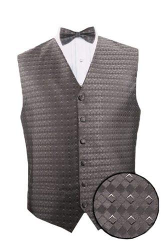 Mens Vest Waiter Uniform Poly Black High Quality Vest