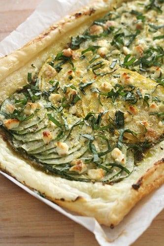 Lemony Zucchini Tart