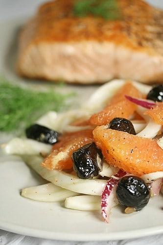 Orange, Fennel and Olive Salad
