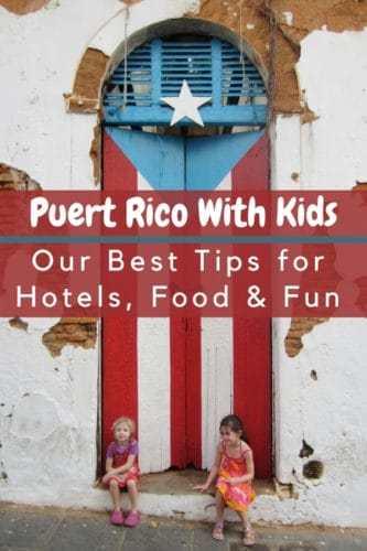 Essential things to do on a puerto rico vacation with kids include trying local food, exploring old san juan and spendiing time on the beach. #sanjuan #puertorico #condado #resorts #thingstodo #elmorro #elyunque #puertoricanfood