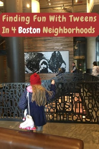 Here are the best popular and hidden things to do in 4 boston neighborhoods. Tips for a weekend vacation with kids, tweens and teens. Plus #hotels and #restaurants #boston #kids #tweens #teens #weekend #thingstodo #ideas