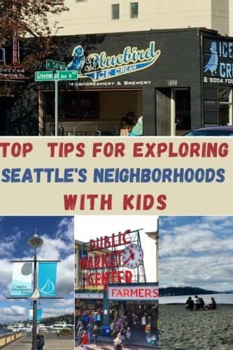 Cool things to do and great places to eat with tweens in downtown seattle and it surrounding neighborhoods.