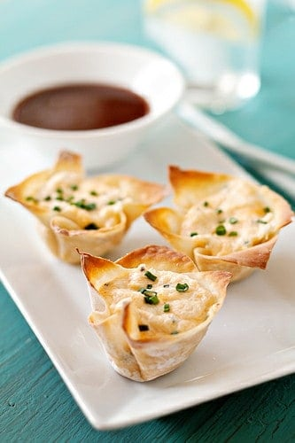 Baby Shower Crab Rangoon Appetizer & More Baby Shower Party Recipe Ideas