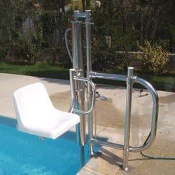 silla salvaescaleras piscina
