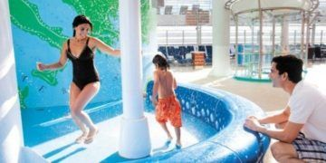 A good pool is essential on a family cruise