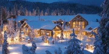Tenaya lodge in winter