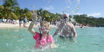 Splashing in tabyana beach