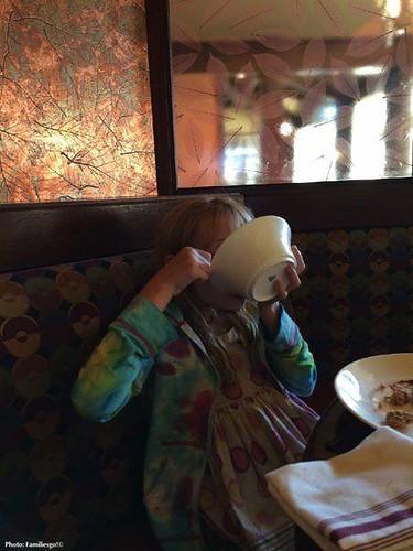 Rasberry sorbet at the nemacolin's autumn restaurant