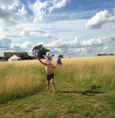 running-through-the-grass