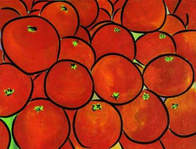 tomatoes painting
