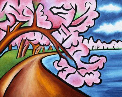 In Bloom painting