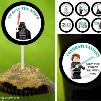 Star Wars Graduation Party Printable Tags