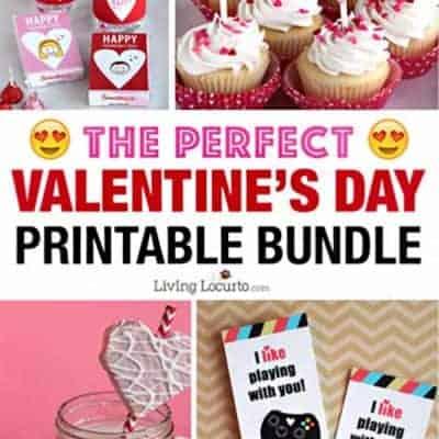 Best Valentine's Day Printables Bundle
