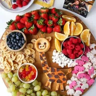 Dolittle Giraffe Cake Dessert Board
