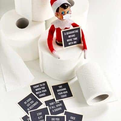 9 Hilarious Stuck at Home Elf Letter Boards