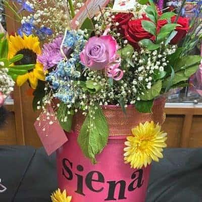 Flower Bucket Bouquets