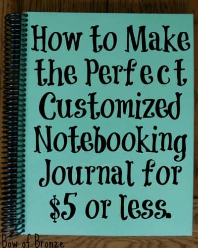 Notebooking Journal