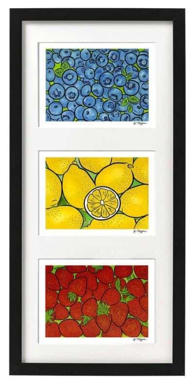 Sets of three prints
